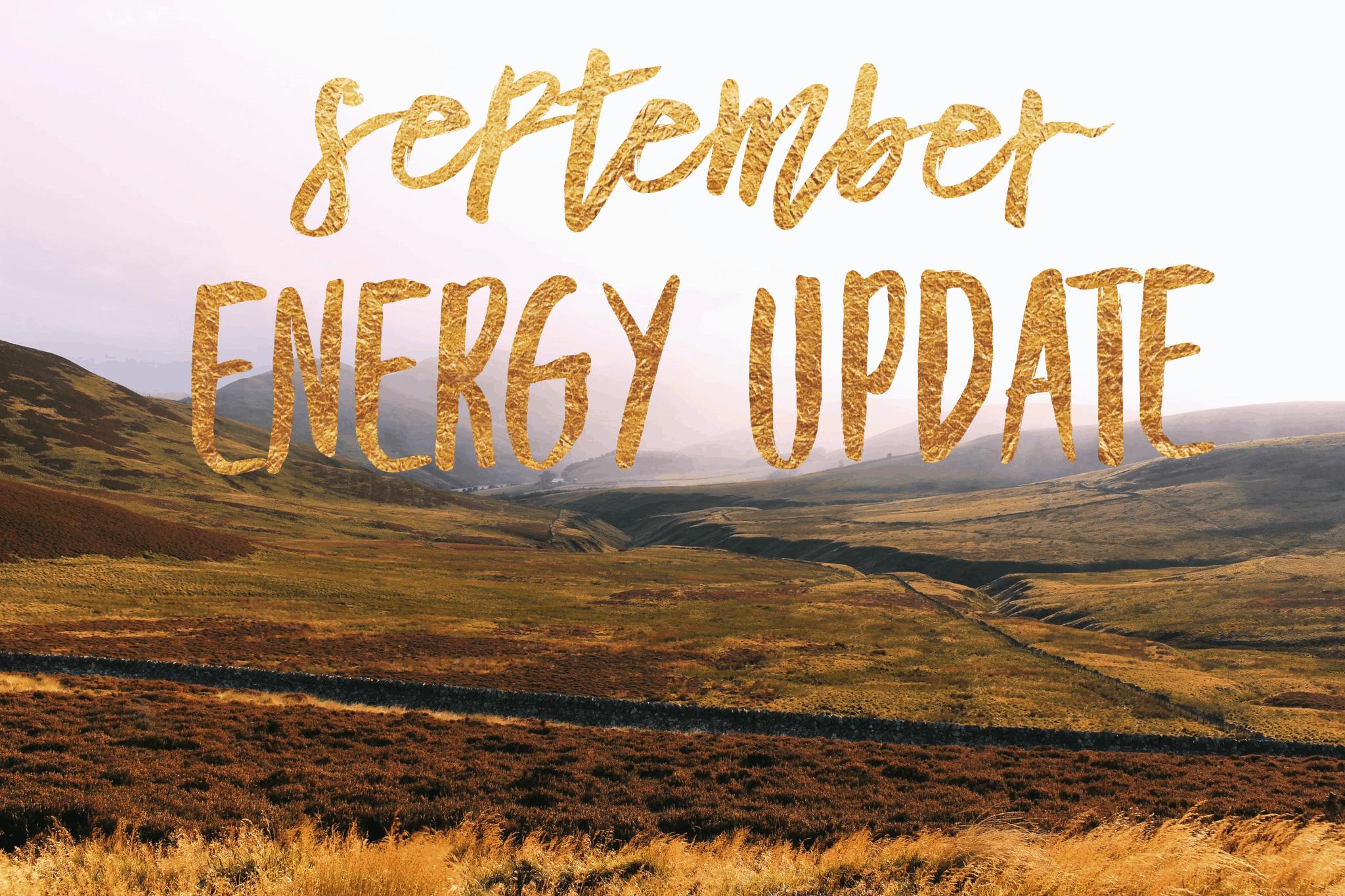 September Energy Update